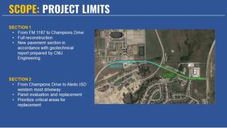 Bailey Ranch Road Repair and Reconstruction